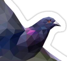 Low Poly Pigeon Sticker