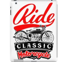 RIDE CLASSIC iPad Case/Skin
