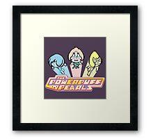 PowerPuff Pearls Framed Print