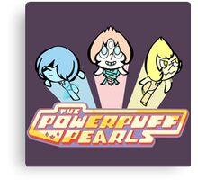 PowerPuff Pearls Canvas Print