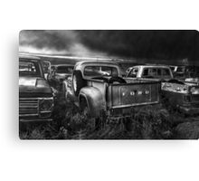 Storm Chasers - BW Canvas Print