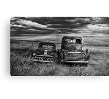 Marriage - BW Canvas Print