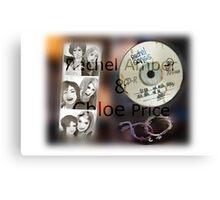 Rachel ambet & Chloe price Canvas Print