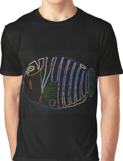 """Humuhumunukunukuapua'a"" abstract underwater photo Graphic T-Shirt"