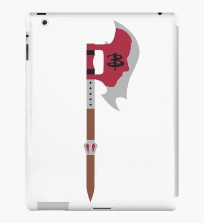 Buffy in the Scythe iPad Case/Skin