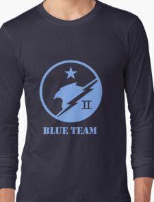 Blue Team Spartans Long Sleeve T-Shirt