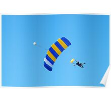 Skydivers Poster