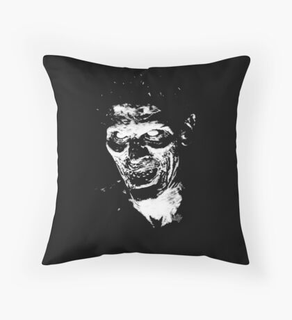 EVIL ASH PILLOW Throw Pillow
