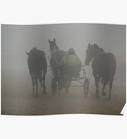 Drive one, lead two horses Poster
