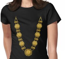 Gold Bling Womens Fitted T-Shirt