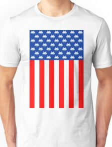 USA : UNITED STATE OF ARCADE Unisex T-Shirt