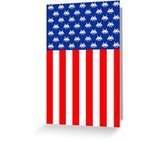 USA : UNITED STATE OF ARCADE Greeting Card