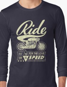 RIDE CAFE RACER Long Sleeve T-Shirt