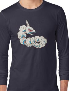 Onix Pokemuerto | Pokemon & Day of The Dead Mashup Long Sleeve T-Shirt