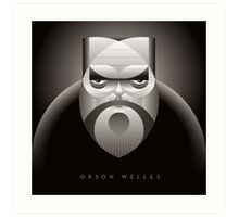 Orson Welles Art Print
