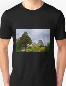Castle at Hiimeji With Trees, Kansai, Japan Unisex T-Shirt