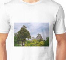 Castle at Hiimeji With Trees, Kansai, Japan Unisex T-Shirt