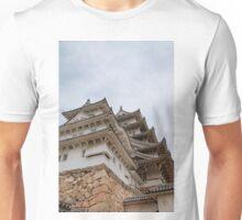 Castle at Himeji, Japan Unisex T-Shirt