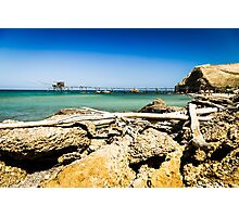 italian seaside in a summer day Photographic Print