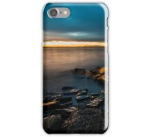 The castle and the lighthouse of Trieste iPhone Case/Skin
