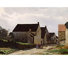Alfred Sisley - Women Going to the Woods 1866 Landscape Photographic Print