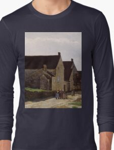 Alfred Sisley - Women Going to the Woods 1866 Landscape Long Sleeve T-Shirt