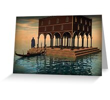 Venetian nonsense Greeting Card