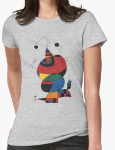 Women Bird Star Womens Fitted T-Shirt