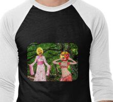 Forest Fruit Head Girls Men's Baseball ¾ T-Shirt