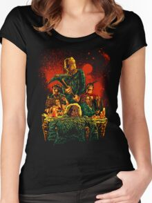 SCARRY NIGHT Women's Fitted Scoop T-Shirt