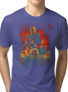 SCARRY NIGHT Tri-blend T-Shirt