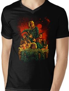 SCARRY NIGHT Mens V-Neck T-Shirt