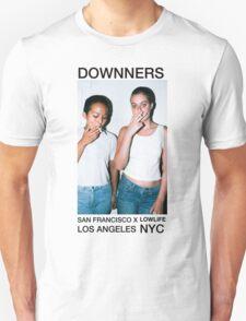 Smoking Girls Dark Grunge Tee ( Downners) Unisex T-Shirt
