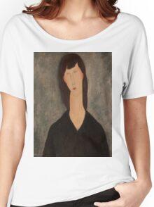 Amedeo Modigliani - Buste de femme Busto Woman Portrait Fashion  Women's Relaxed Fit T-Shirt