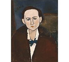 Amedeo Modigliani - Elena Povolozky 1917 Woman Portrait Fashion  Photographic Print