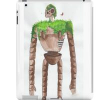 Castle in the Sky Robot iPad Case/Skin
