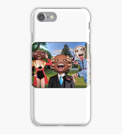 American Sports Big Heads iPhone Case/Skin