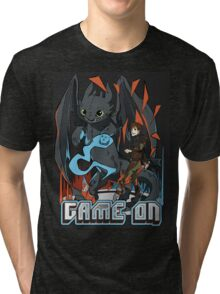 HTTYD: Game On! Tri-blend T-Shirt