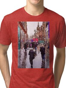 Rainy Day in Glasgow Tri-blend T-Shirt