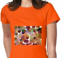 Large Orange Pollen Womens Fitted T-Shirt