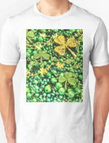 St. Patrick's Day Beads Unisex T-Shirt