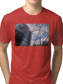 Indoors Outdoors Sky Geometry - Fabulous Modern Architecture in London, UK Tri-blend T-Shirt