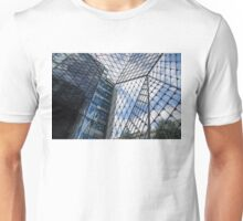 Indoors Outdoors Sky Geometry - Fabulous Modern Architecture in London, UK Unisex T-Shirt
