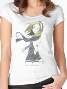 Kat of Gravity Rush  Women's Fitted Scoop T-Shirt