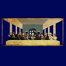 THE DOCTOR'S LAST SUPPER  by karmadesigner