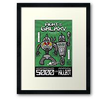 Fight of the Galaxy Framed Print