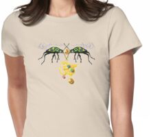 Aum Jewel Bugs (2008) Womens Fitted T-Shirt