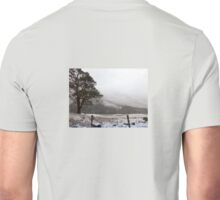 Snow Scene on Glencoe, Scotland #1 Unisex T-Shirt
