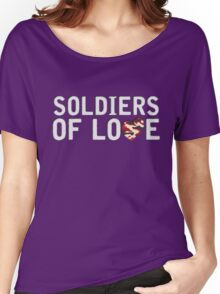 Lighthouse X - Soldiers of Love Women's Relaxed Fit T-Shirt