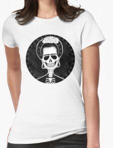 Frida (Stack's Skull Sunday) Womens Fitted T-Shirt